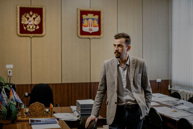 De burgemeester Aleksej Koedrjasjov.  Beeld Emile Ducke