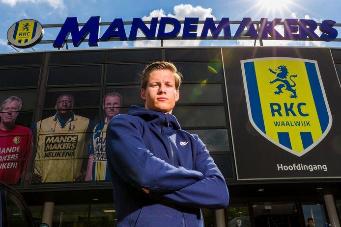 Jarno Abbel vertrekt bij RKC Waalwijk.