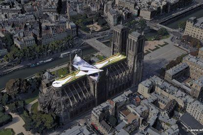 Krijgt Notre-Dame straks het meest exclusieve dakappartement ter wereld?