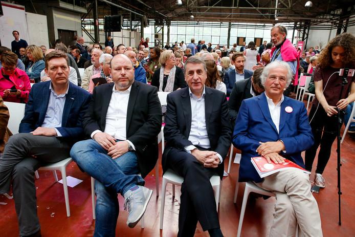 Benoit Cassart, Marc Loewenstein, Olivier Maingain et Didier Gosuin.