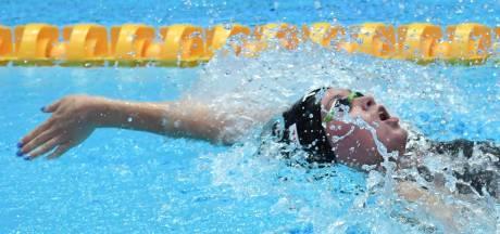 Toussaint met persoonlijk record naar halve finale 50 meter rugslag