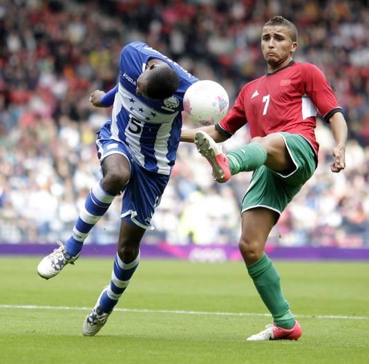 Zakaria Labyad, in de zomer van 2012 met Marokko actief op de Olympische Spelen in Londen.