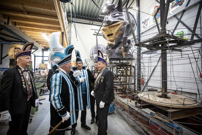 CV De Vennemuskes houdt open huis in de nieuwe wagenloods aan de Retentieweg.