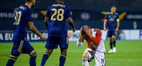 Feyenoord blijft na gemiste penalty en rood Senesi steken op remise