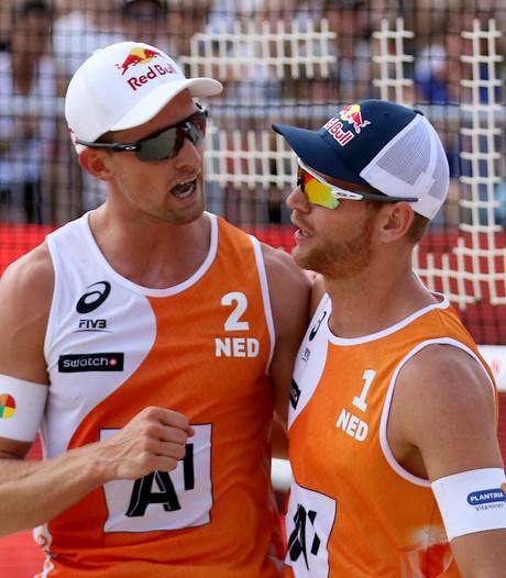 Brouwer/Meeuwsen openen EK beach met twee overwinningen