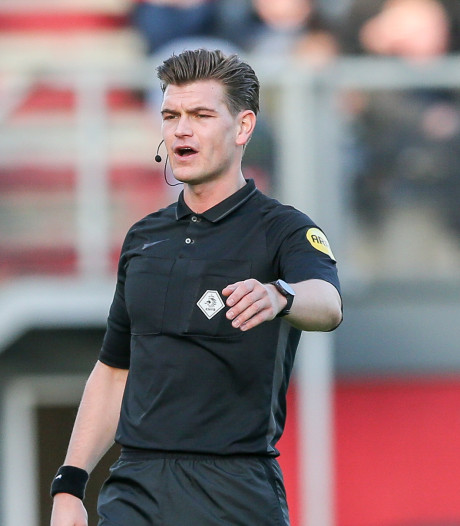 Arbiter Kooij voor tweede keer dit seizoen naar Adelaarshorst