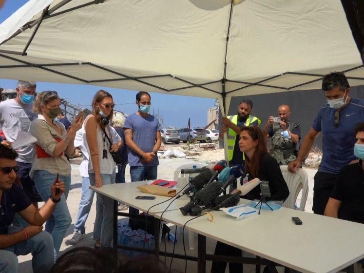Overlevenden explosie Beiroet willen internationaal onafhankelijk onderzoek