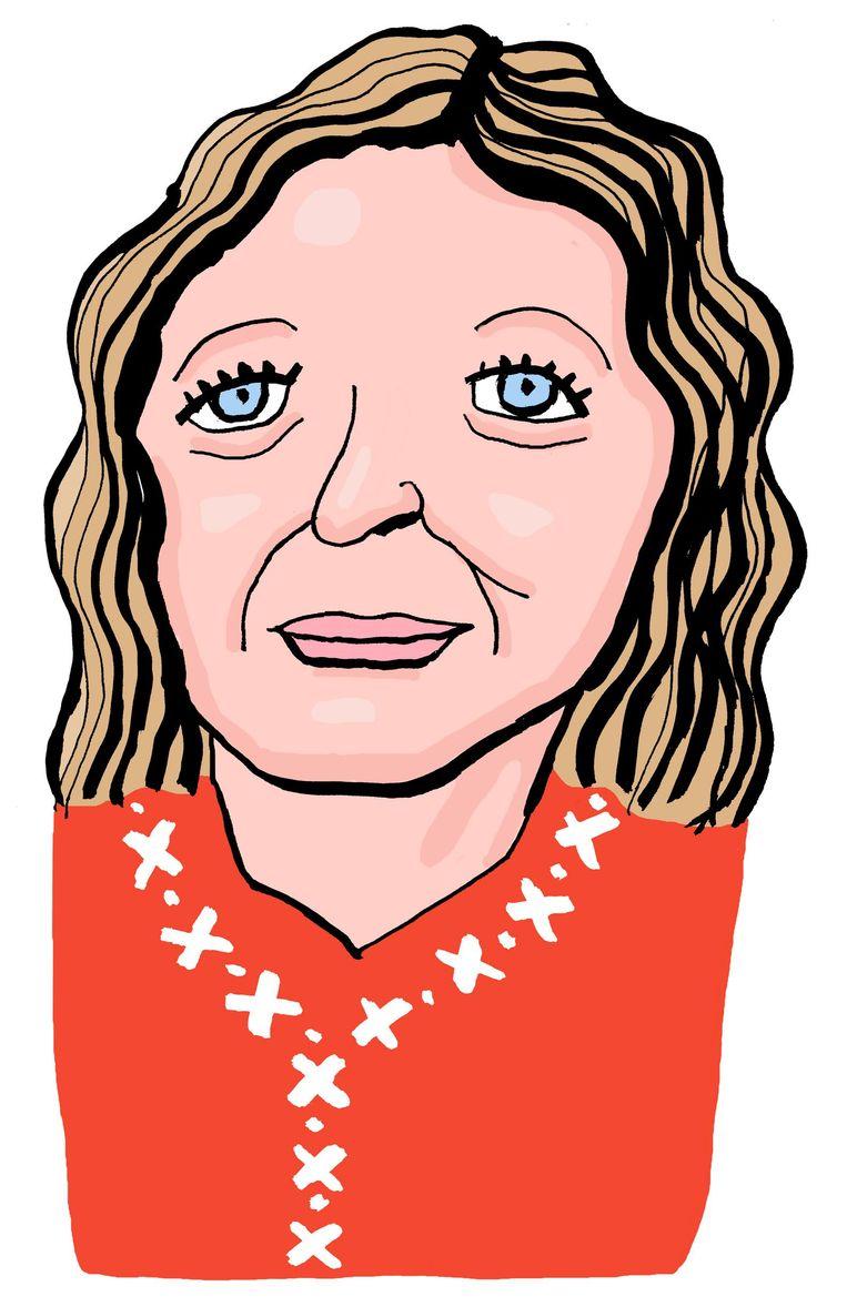 Edith Schippers wordt de burgermoeder van Amsterdam. Beeld Bas van der Schot