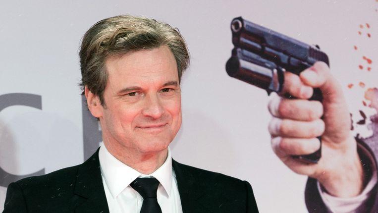 De Brits-Italiaanse acteur Colin Firth op de première van 'Kingsman: The Secret Service'.