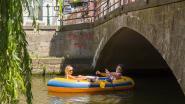 Gentenaars zoeken verkoeling op het water