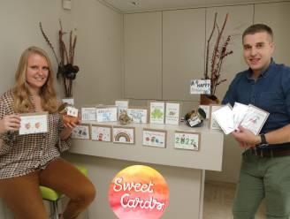 """Sweet Cards maakt wenskaarten met een zoetigheid: """"We willen mensen blij maken"""""""