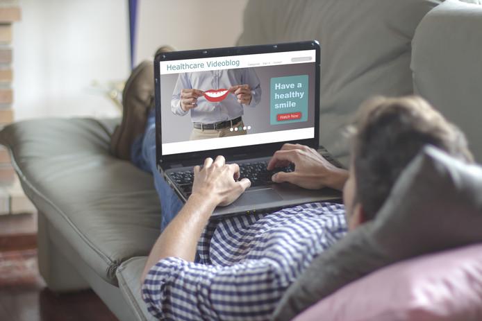 Nederlanders zoeken online wat af als het om hun gezondheid gaat.