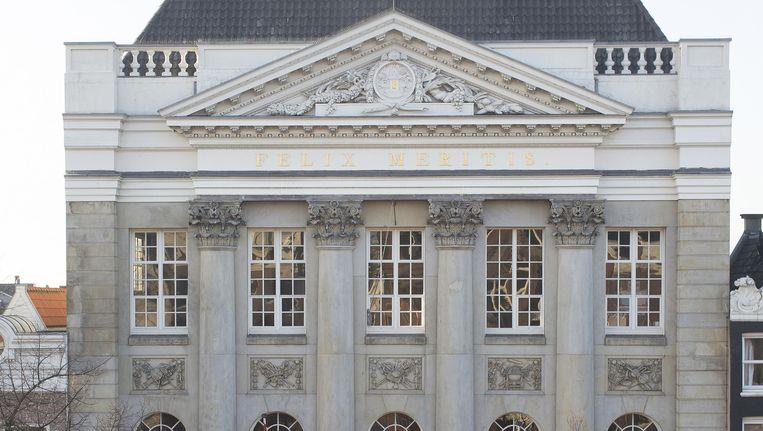 De renovatie van het Felix Meritis begint in januari 2016 Beeld Het Parool/Elmer van der Marel
