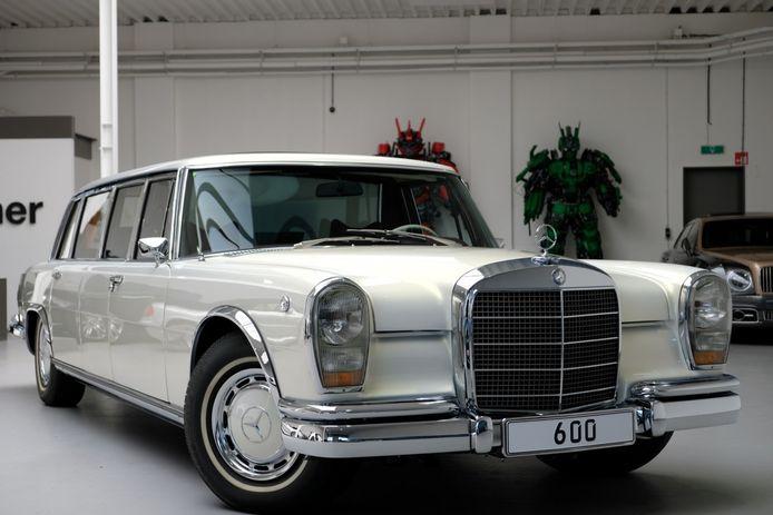 Mercedes-Benz 600 Pullmann.