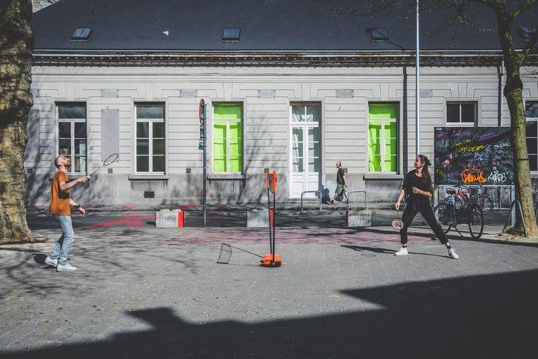 badmintonnen in gent centrum