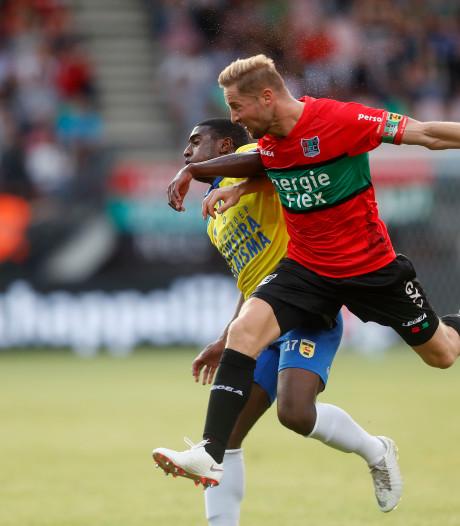 NEC-aanvoerder Rens van Eijden mist duel met Helmond Sport