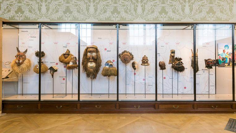Het Koninklijk Museum voor Midden-Afrika bij Brussel heet nu AfricaMuseum. Het is uitgebreid en totaal anders ingericht. Beeld Jo Van de Vyver/Africa Museum