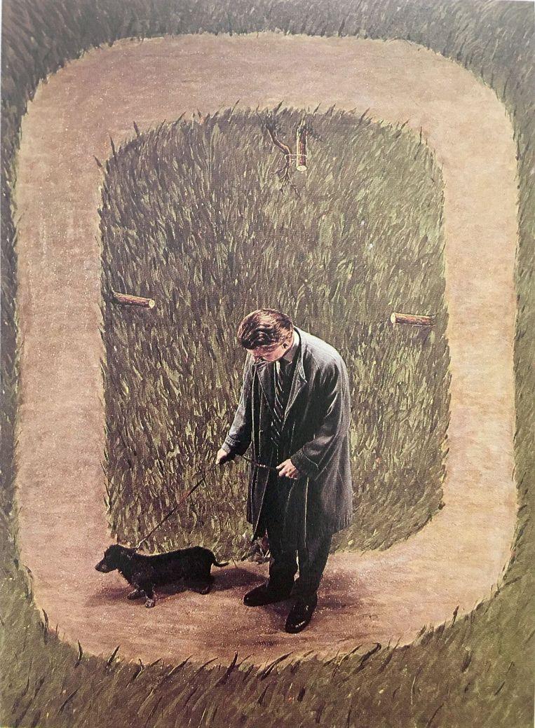Teun Hocks, Untitled (1990), Torch Gallery. De kunstenaar is een favoriet van Yamin. Beeld Gallery Viewer