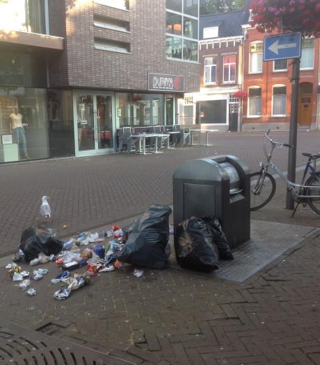 Afvaldump en vandalisme: roerig weekend voor Roosendaals centrum