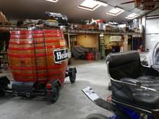 'Ober, twee bier': rijdende bierton van Heineken in Liempde gerestaureerd