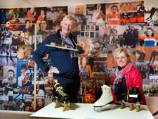 Eind aan nomadenbestaan, vaste stek Schaatsmuseum