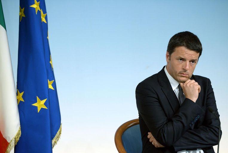 Matteo Renzi Beeld afp