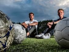 Daan en Stefan realiseren hun droom dankzij het coronavirus, een voetbalschool in Holten: 'Baas over de bal'