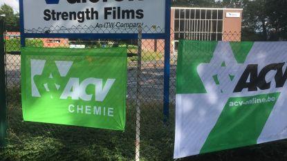 Opnieuw 24-uren staking bij folieproducent Valéron Strength Films