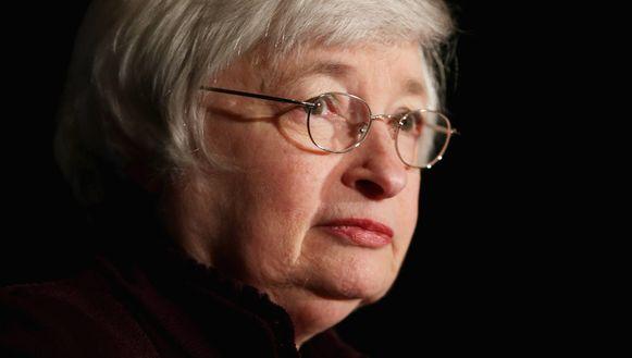 Fed-voorzitter Janet Yellen.