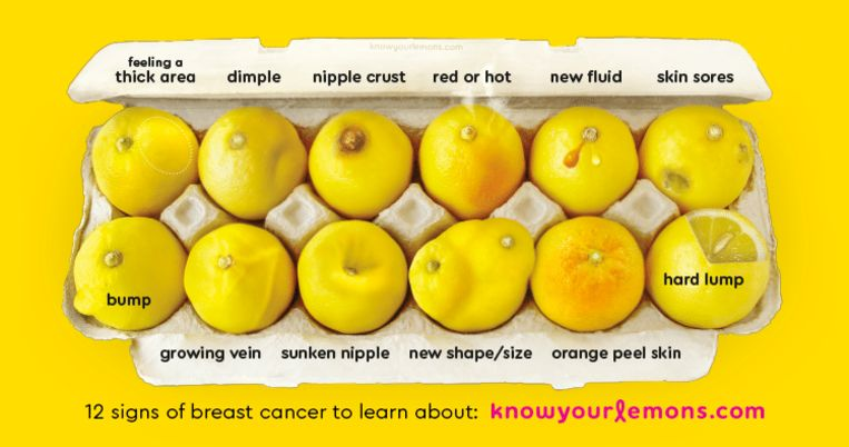 #KnowYourLemons Breast Health Education