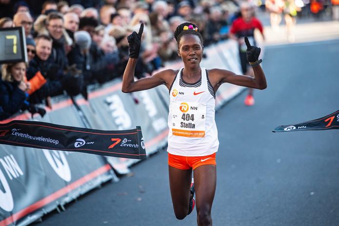 De Oegandese Stella Chesang werd in 2018 eerste in 47.19.