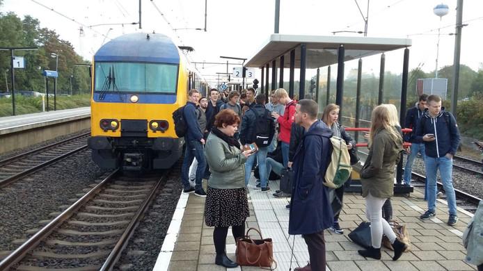 Ondertussen in 't Harde tijdens de treinstoring in Zwolle