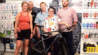 Met 5 euro wint Marc een mountainbike van 700 euro