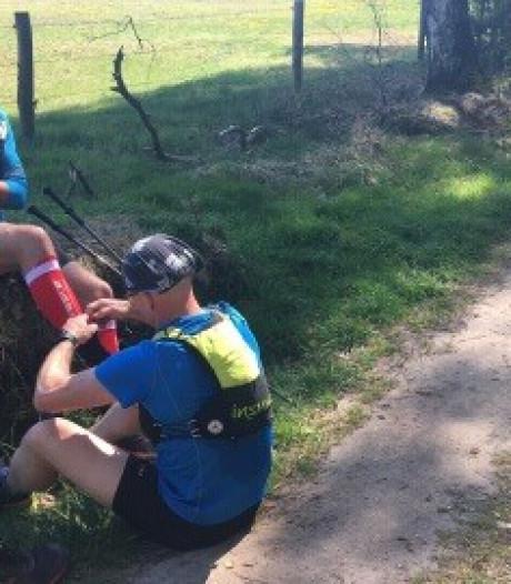 Man uit Gouda snelt over Pieterpad van 500 kilometer