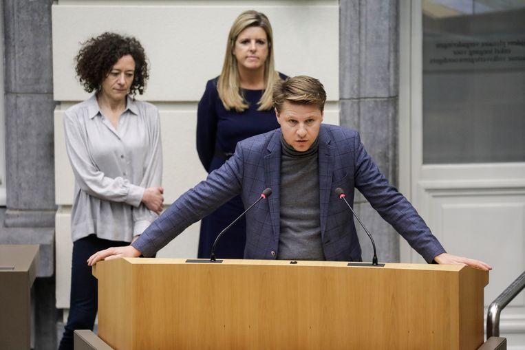 Vlaams parlementslid Axel Ronse (N-VA).