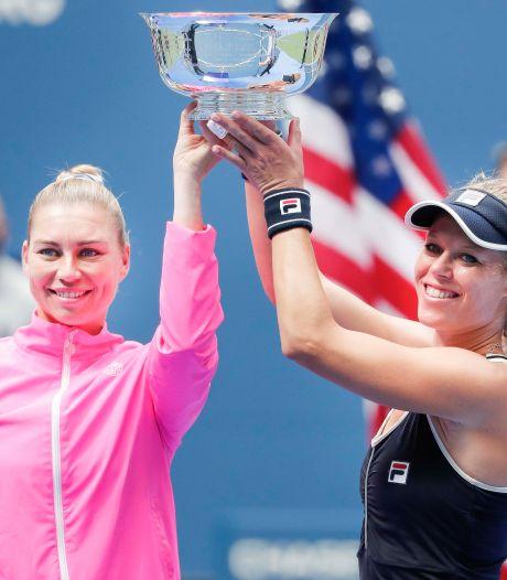 Zvonareva en Siegemund winnen op US Open het vrouwendubbelspel