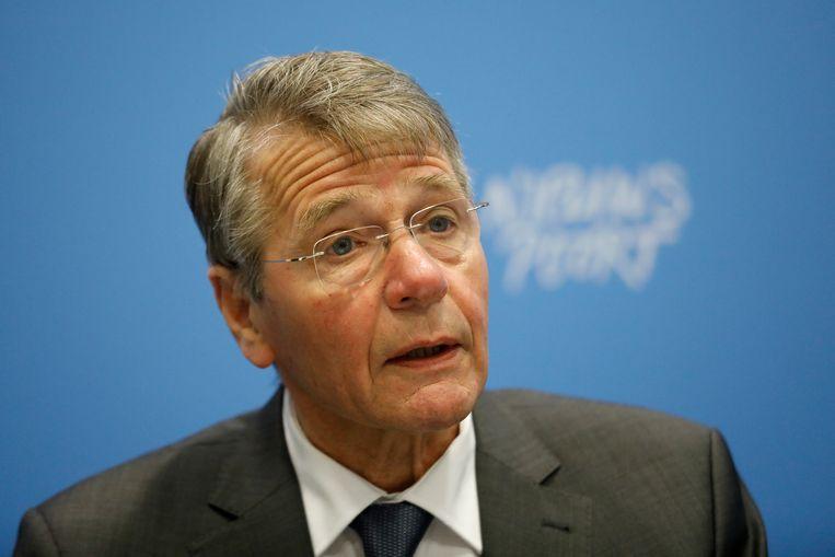 Vice-president van de Raad van State Piet Hein Donner. Beeld ANP
