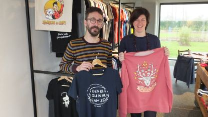 Tom en Femke organiseren pop-up cadeaubeurs in nieuwe shop in Hansbeke