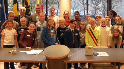 Mats verkozen tot nieuwe kinderburgemeester