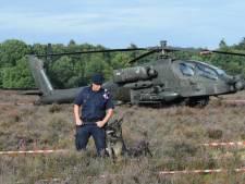 Defensie hoopt dat gestrande Apache zelf terug kan vliegen naar Gilze-Rijen