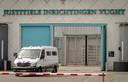 De hoofdingang van de penitentiaire inrichting Vught, een van de plekken waar Brech mogelijk terecht komt na zijn uitlevering