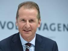 Ook de huidige Volkswagen-topman wist van sjoemelsoftware
