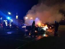 Opnieuw auto uitgebrand in Enschede