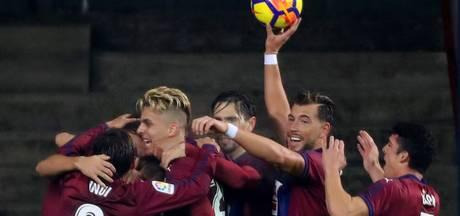 Eibar verbaast zichzelf in La Liga