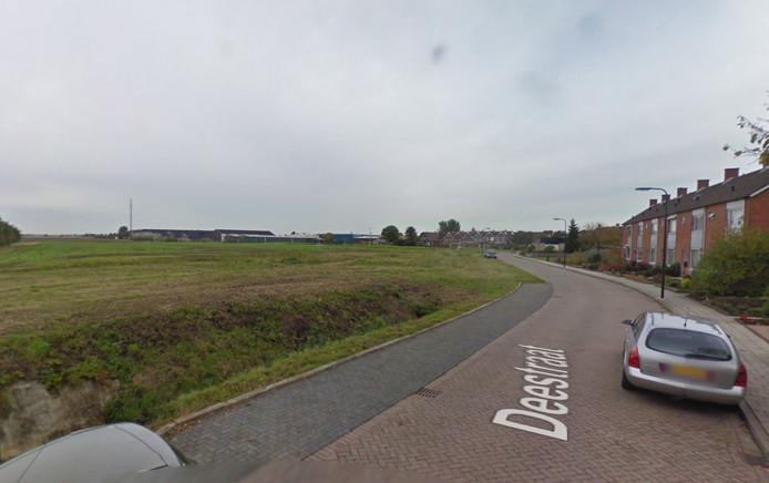In de Deestraat staan 20 nieuwe woningen gepland.
