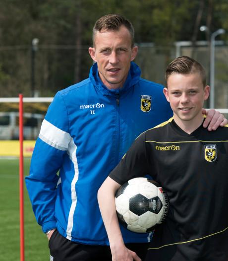 Tim Cornelisse moet aan de bak met Vitesse Onder 16