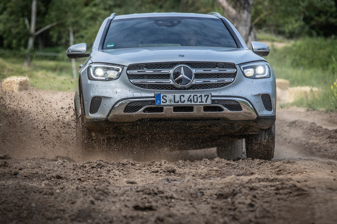Vooral in technisch opzicht is de vernieuwde Mercedes GLC erop vooruit gegaan.