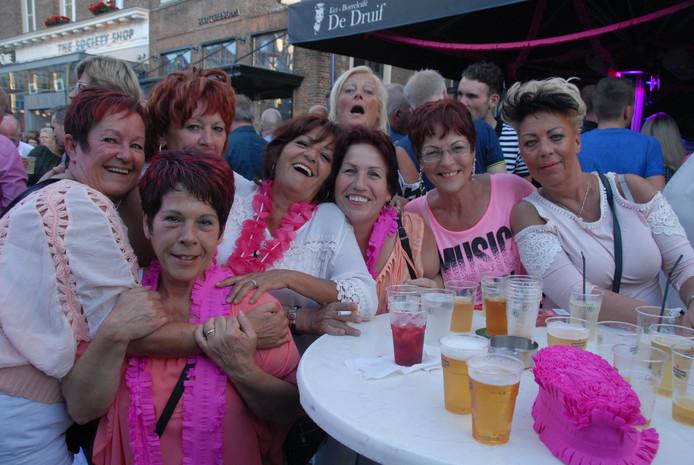Het evenement Pretty in Pink.