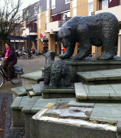 IJsberen tijdelijk weg van Dierense Callunaplein