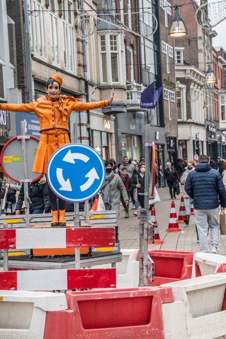 Dit is hoe de topdrukte in Brabantse winkelsteden vandaag in goede banen geleid moet worden
